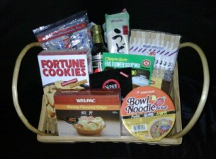 The Oriental Fortune Cookie Basket