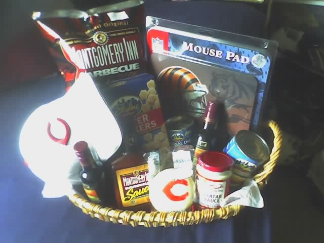 Cincinnati Sports Geek Basket