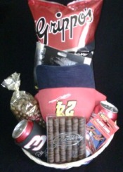 Nascar Fan Basket!!