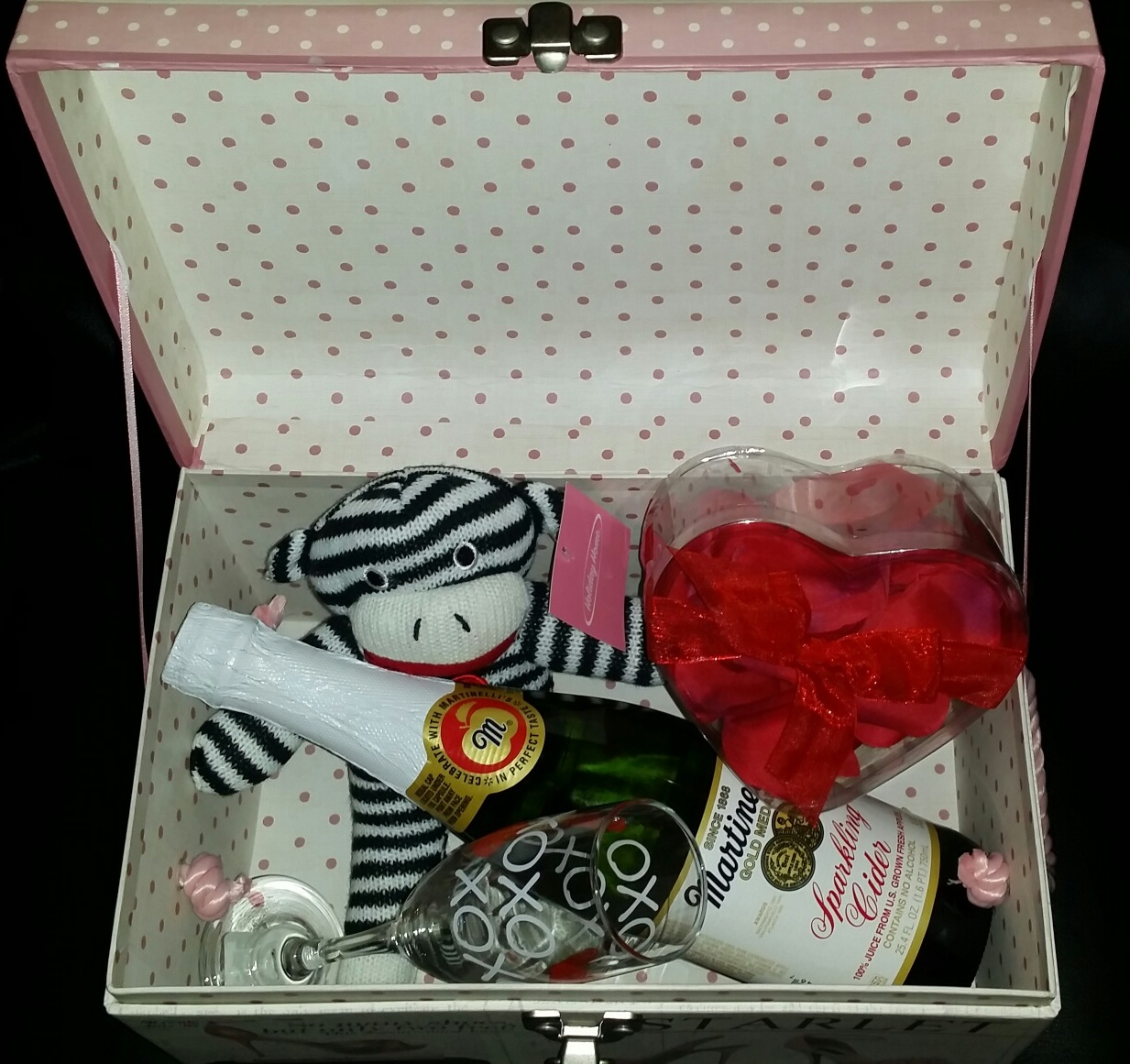 Love & Treasure Gift Box Basket